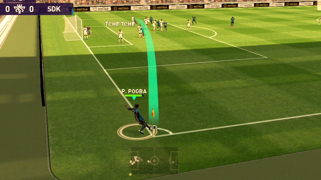 Unbelievable Goals In Pes Mobile || Deep Shoot + Passing Composition