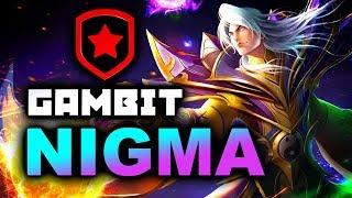 NIGMA vs GAMBIT - ELIMINATION MATCH - Bukovel Minor WePlay! 2020 DOTA 2