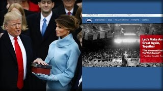 TRUMP TAKES OFFICE, IMMEDIATELY 1 TERM DELETED ACROSS ENTIRE WHITE HOUSE WEBSITE