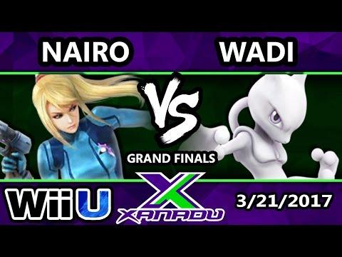 S@X 5 Year - NRG | Nairo (ZSS) Vs. InC | Wadi (Mewtwo) - SSB4 Grand Finals - Smash 4 - Smash Wii U