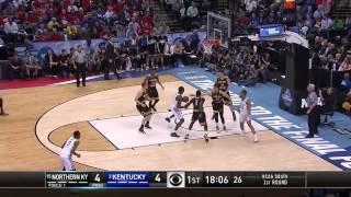 Kentucky vs Northern Kentucky March Madness Highlights