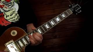 Ozzy Osbourne - The Liar (Guitar solo cover)
