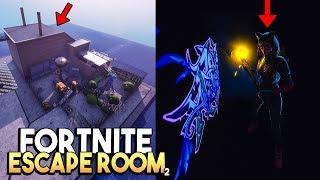 GLOW IN THE DARK ESCAPE ROOM! - Fortnite Creative (Nederlands)