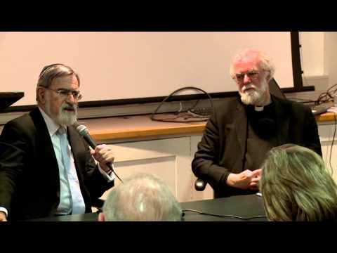 "Chief Rabbi Lord Jonathan Sacks and Lord Rowan Williams: ""Trust and trustworthiness"""