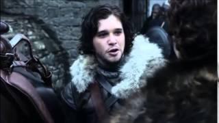 Jon says goodbye to Robb