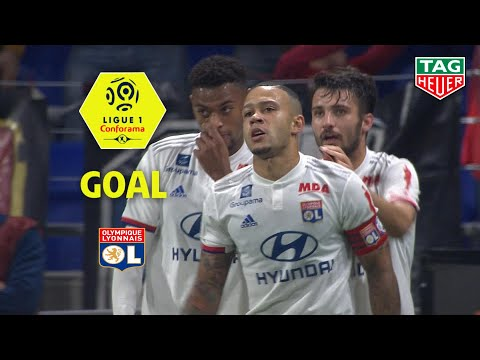 Goal Memphis DEPAY (28') / Olympique Lyonnais - FC Metz (2-0) (OL-FCM) / 2019-20