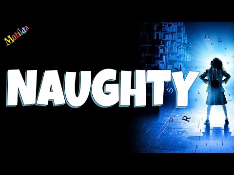 Naughty Matilda the musical Backing track karaoke instrumental