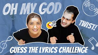 Complete the Lyrics Challenge with a TWIST🤣|OMG😆|Anirudh Sharma|