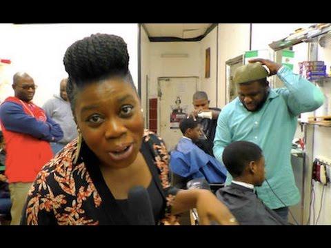 The Nigerian Dancing Barber-Shop in London