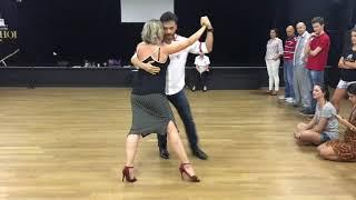 Aula de Tango aos professores do Bolshoi Brasil