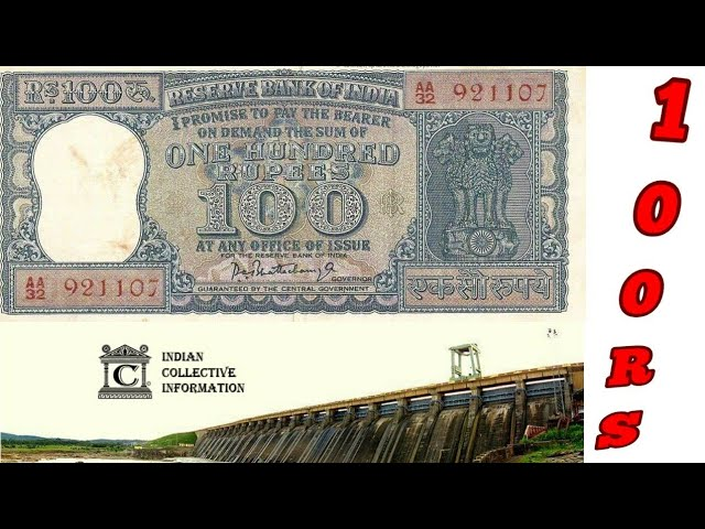 Rare 100 Rupee  Note of Indian Governor| Rare Old Notes Value Auction Price
