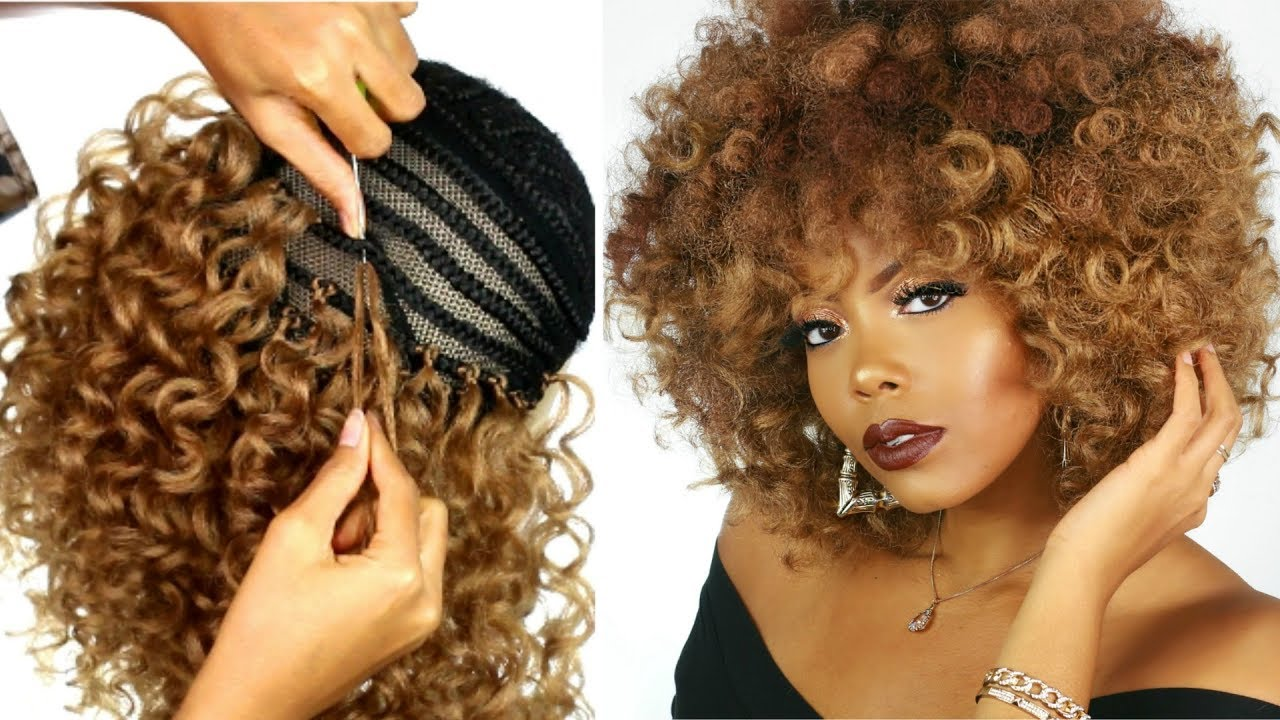 Omg Crochet Braid Wig Transformation How To Make A Wig Protective