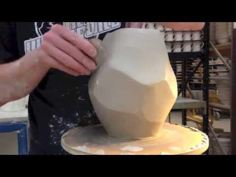 Pottery  Throwing rocks