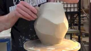 Pottery - Throwing rocks