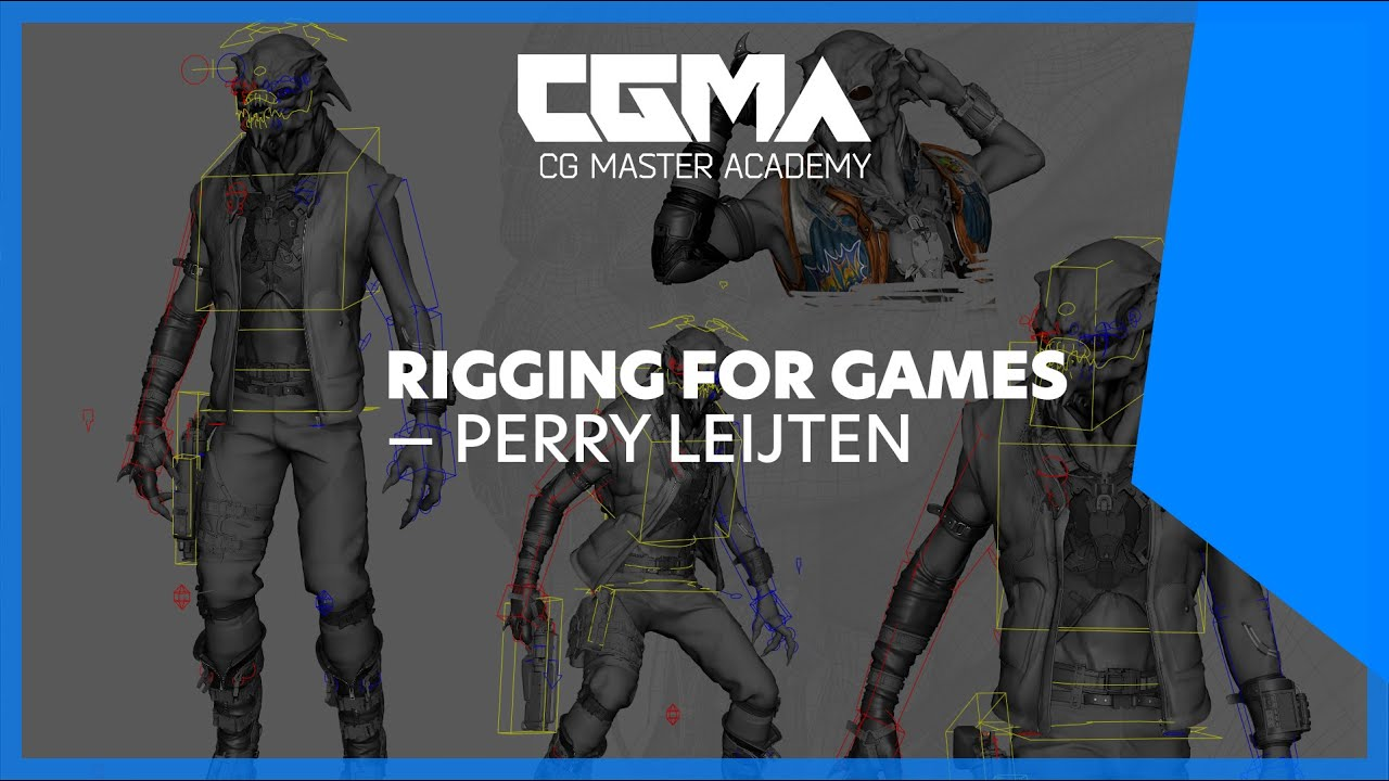 CGMA – Rigging for Games
