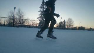 ICE FREESTYLE Russian.part_1(фристайл на коньках)