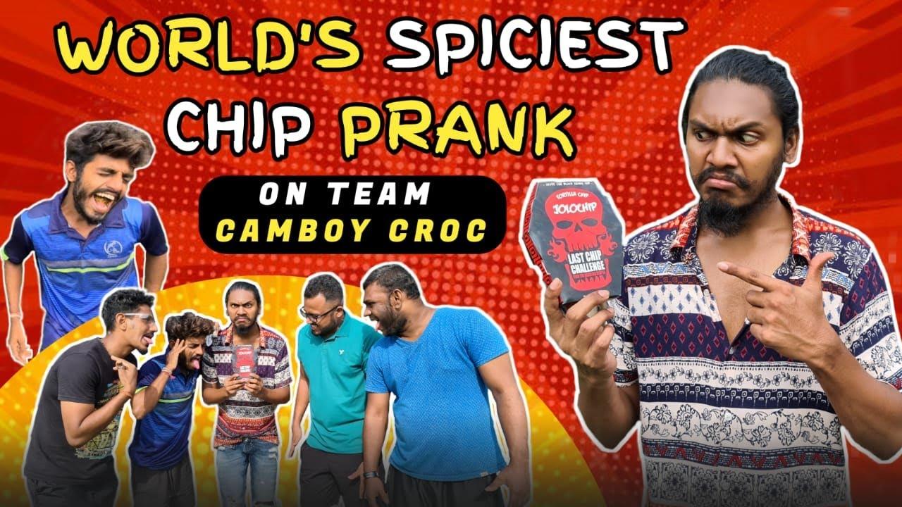 Download World's Spiciest Chip Prank! On Team Camboy Croc