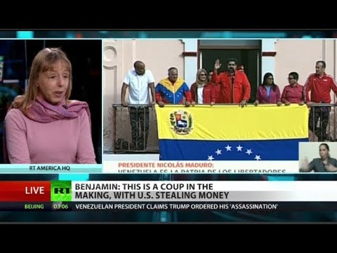 Code Pink co-founder on attempted coup in Venezuela