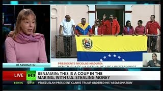 Code Pink co-founder on attempted coup in Venezuela Code Pink co-founder Medea Benjamin recently disrupted Secretary of State Pompeo's speech on Venezuela last week at the Organization for American States, ..., From YouTubeVideos