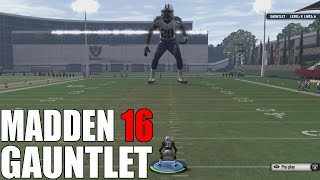 100 FT TALL GIANT PLAYER BREAKS MY ANKLES! - Madden 16 Gauntlet Gameplay
