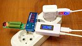 USB тестер Keweisi KWS-V20 амперметр, вольтметр, тестер емкости .