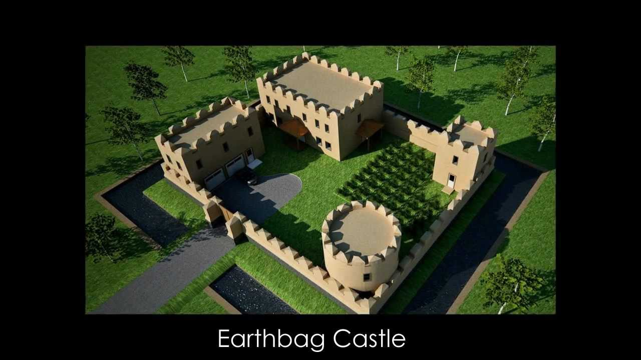 Earthbag And Straw Bale House Plans By Owen Geiger Youtube