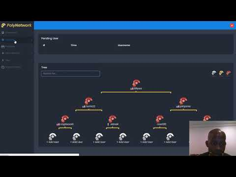 PolyNetwork Review   Placing People In Your Network and Funding Your Account