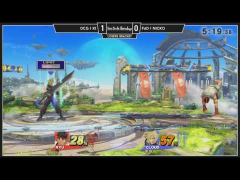 True Combo Thursdays #12: DCG   Ki (Ryu) v FAD   Nicko (Cloud)