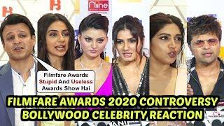 Filmfare Awards 2020 C0ntroversy - Bollywood Celebrities Sh0cking Reaction-Vivek, Raveena, Taapsee