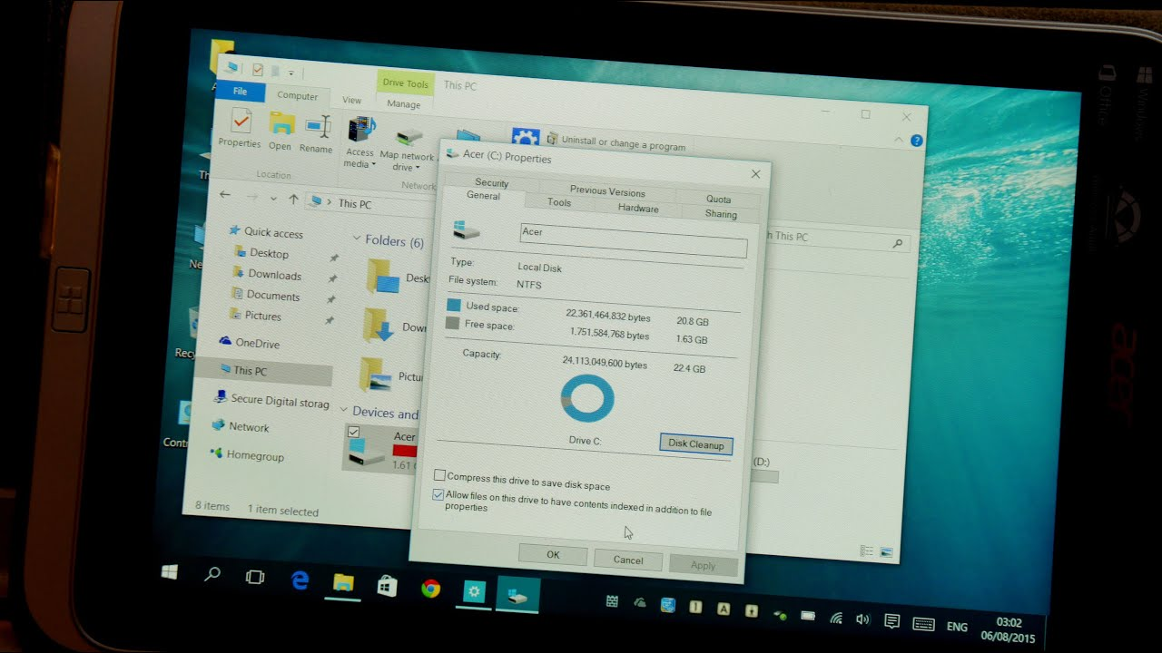 How to free up-to 10GB disk space after Windows 10 update