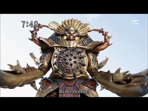 Goseiger First Henshin And Roll Call