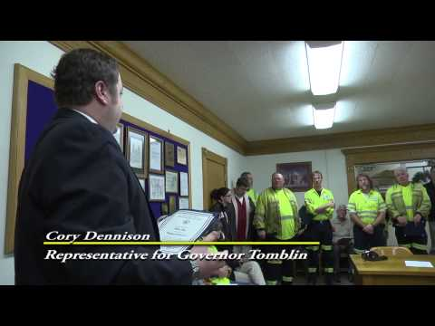 WVDOH Crew Commended for Saving Truck Driver's Life