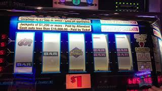 Double Diamond 9 Line - 5x 10x Quick Hit - Magic Pearl - High Limit Slot Play