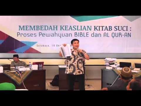 Membedah Keaslian Kitab Suci : Proses Pewahyuan Bible Dan Al-Quran