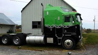 Kenworth k100 Aerodyne Cold start