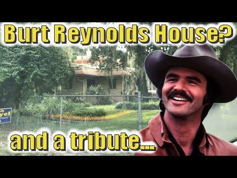 Burt Reynolds Home in Winter Haven? And A Tribute...
