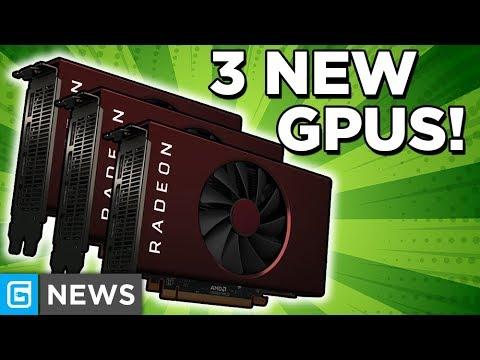 AMD Releases 3 NEW Radeon GPUs, Nvidia's RTX 3000 GPUs COMING SOON!