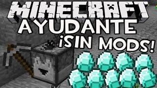 Minecraft: AYUDANTE / MINION Con Solo Un Comando! (Trucos de Minecraft)