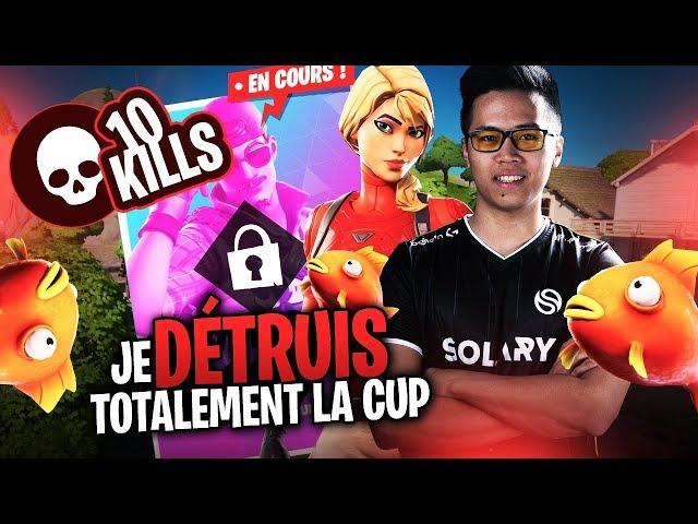 JE DÉTRUIS TOTALEMENT LA CUP !! ► CASH CUP SOLO (Highlights)