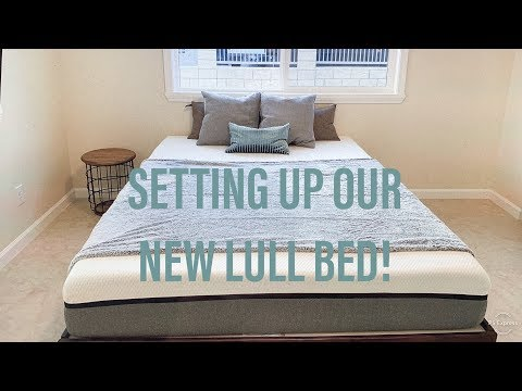 SETTING UP OUR NEW LULL BED!