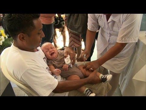 Nicaragua Combats Pneumonia in Country's Young Via New Vaccine
