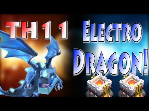 TH11 Electro Dragon Attack Strategy 2018 | Clash of Clans