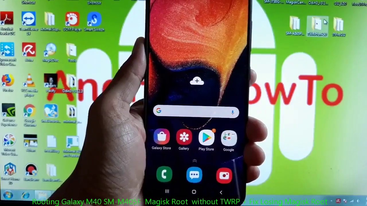Rooting Galaxy M40 SM-M405F Magisk Root without TWRP + Fix Losing Magisk  Root