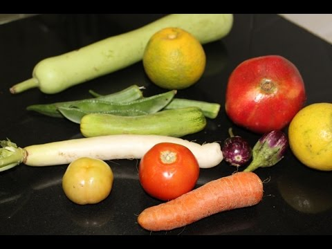 How to choose vegetables and fruits in TAMIL - காய்கறிகளை தேர்ந்தெடுக்கும் முறை