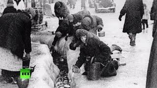 К 70-летию Победы: пережившие блокаду Ленинграда(Военная блокада Ленинграда началась 8 сентября 1941 года и длилась 872 дня. К ее началу в городе не было достато..., 2015-05-04T14:39:08.000Z)