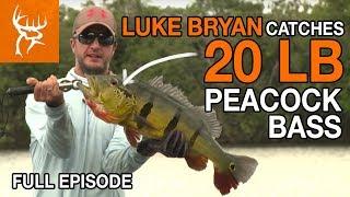 LUKE BRYAN CATCHES 20 LB PEACOCK BASS | Buck Commander | Full Episode