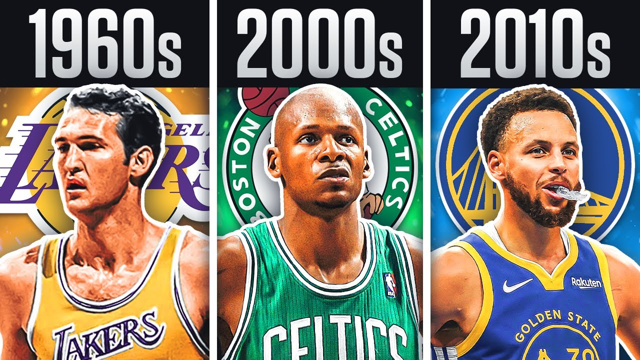 BEST Shooter From Every Decade In NBA History