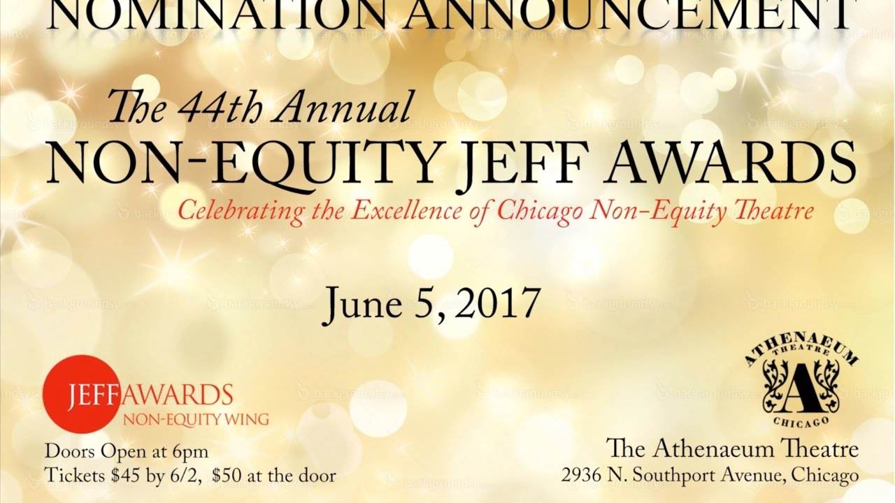 2016 17 non equity jeff awards nomination announcement