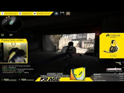 V3nom streaming some casual CSGO - Live Stream #40!
