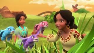 Елена - Принцесса Авалора - 03 - Приключения в Звёздной долине: Быстрая еда | мультфильм Disney
